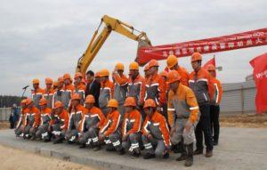 МАЗ и ВЕЙЧАЙ начали строить моторный завод под Минском