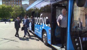 Депутаты госдумы произвели оценку электробуса Камаз