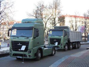 МАЗ передал очередную партию тягачей Евро-6