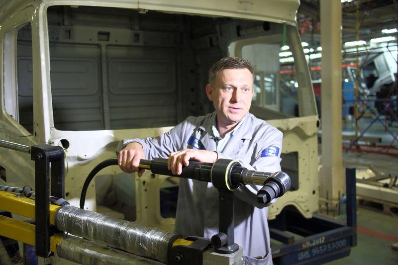 Умные инструменты для сборки новых КАМАЗов
