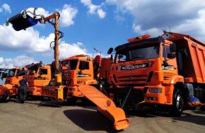 Автотехника КАМАЗ, реализованная на COMTRANS 2019